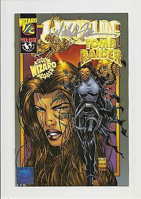 Witchblade/tomb Raider #1/2 Vf/nm 9.0 Gold Foil (Wizard) *signed By Turner* 1999