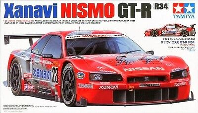 Tamiya 24268 1/24 Scale Xanavi Nismo GT-R (R34)  from Japan