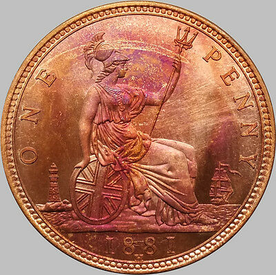 1881 H Victoria Penny, Copy, (FREE UK POSTAGE AVAILABLE)