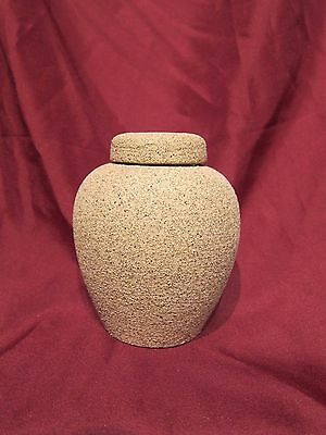 Sand finish Funeral urn for pet ashes cat dog ferrets small animal-pet cremation