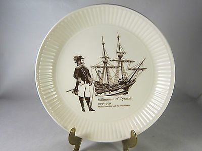 WEDGWOOD Millennium of Tynwald 979-1979 Souvenir Plate 6 inches wide