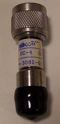 Attenuator 10db 50-Ohm N-male/female DC-4GHz by M/A-COM 3082-6173-10 -- NEW!!!