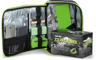 Dakine Super Tune Snowboard tune Kit, Black/Green
