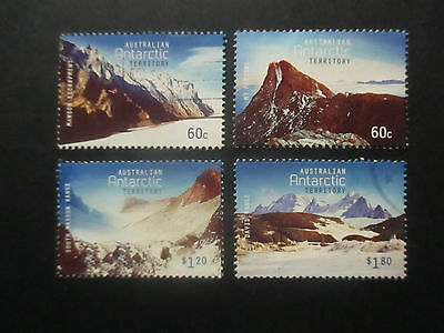 --2013 -Aat  Mountains  --4  Stamps  F/s  --Used- --A1  Order
