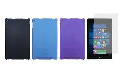 """TPU Case + Screen Protector for Nuvision 10"""" (TM101W610L) Windows 10 Tablet 2017"""