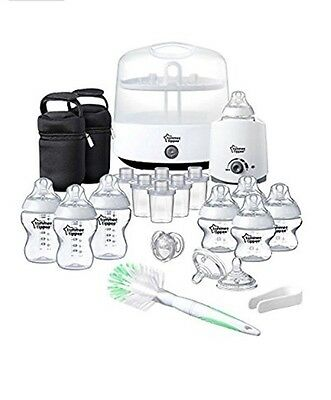 Tommee Tippee Closer To Nature New Born Complete Starter Kit (white)