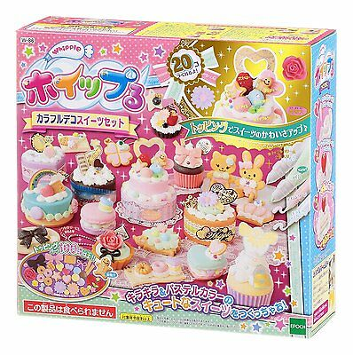 Epoch Japanese DIY Whipple Cream Toy Kit Mix Cream Party set Japan w-86 #823 F/S