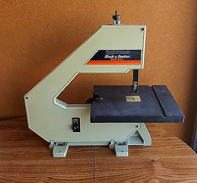"""Black and Decker Belt Drive 12"""" Table Top Band Saw Model 9411"""