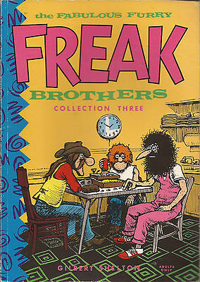 The Fabulous Furry Freak Brothers collection three 3 VGC