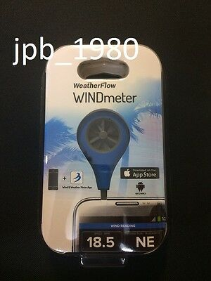 *Latest Model* - WeatherFlow Wind Meter Iphone Android Mobile Kite Wind Surfing!