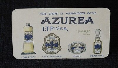 Card Calendar 1924/5 Perfumed With Azurea By L T Piver Of Paris #16