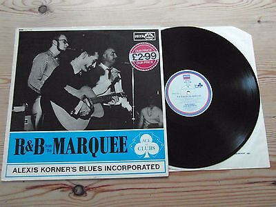 Alexis Korner's Blues Incorporated-R&b From The Marquee-Mono-Ex Vinyl Lp