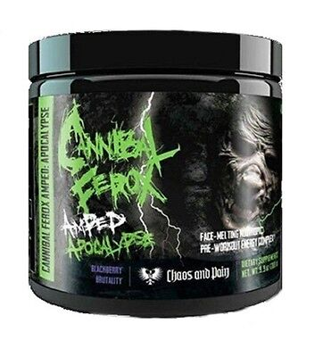 Chaos and Pain Cannibal Ferox Amped Apocalypse Trainingsbooster Booster+Geschenk