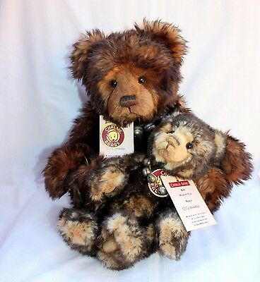 Limited Edition Charlie Bears Snuggle & Wurve You By Isabelle Lee