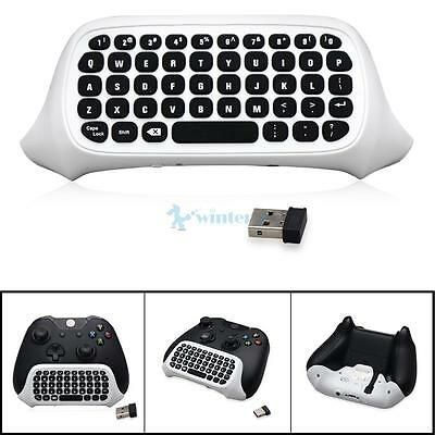 New 2.4G Mini Wireless Chatpad Message Keyboard for XBOX ONE Slim Controller