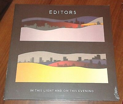 EDITORS In This Light And On This Evening 2009 EU limited edition LP vinyl New