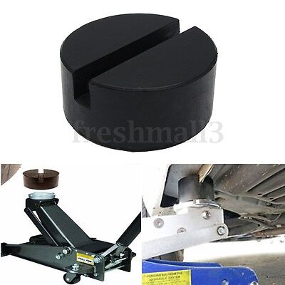 Slotted Frame Rail Floor Jack Guard Adapter Lift Car Van Protective Rubber Pad