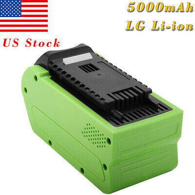 Creabest 40V 5.0AH 200W GreenWorks 29462 29472 22272 G-MAX Replacement Battery