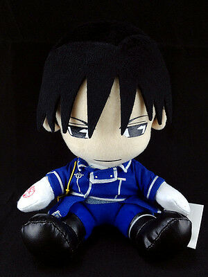 Fullmetal Alchemist Plush Doll official Movic Roy Mustang Rare