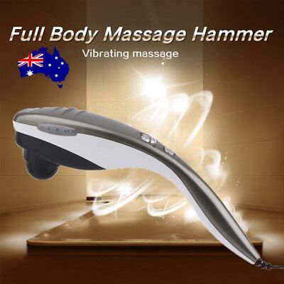 Electric Hand held Home Body Heat Beurer Massager Neck Back Shoulder Massage AU