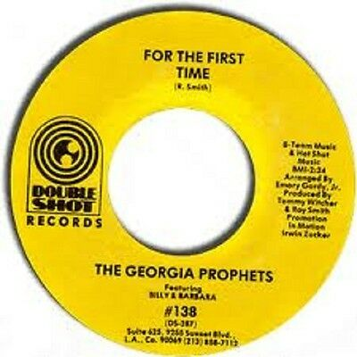 Georgia Prophets For the first time US Double Shot (rare soul vinyl 45)