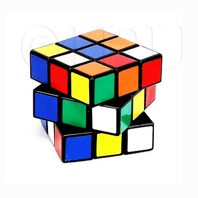 3x3×3 Magic Cube Super Smooth Fast Speed Rubix Rubiks Puzzle Twist Classic Gift