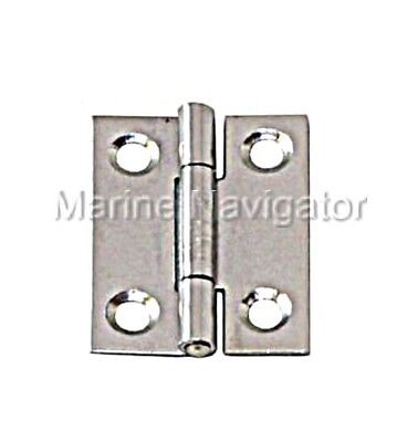 Narrow Hinge Stainless Steel Satin Finish 30 x 22 x 0.8mm