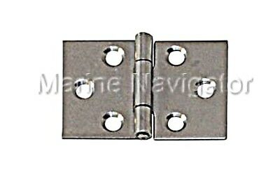 Wide Hinge Stainless Steel Satin Finish 30 x 45 x 1.0mm