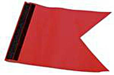 Pennant Protest Flag approx.170x235mm with Velcro Red