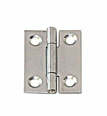 Narrow Hinge Stainless Steel Satin Finish 50 x 31 x 1.1mm