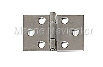 Wide Hinge Stainless Steel Satin Finish 40 x 60 x 1.0mm