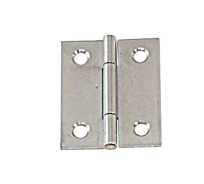 Hinge Semi Wide Stainless Steel Satin Finish 60 x 46 x 1.2mm