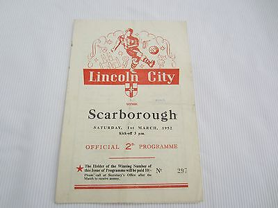 51-2 MIDLAND LEAGUE RESERVES LINCOLN CITY v SCARBOROUGH