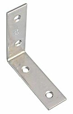 Corner Angle 80x18mm Mat Stainless Steel