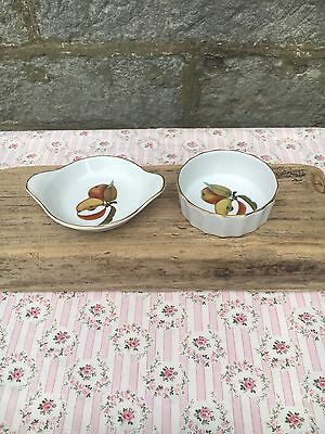 Royal Worcester Evesham Small Quiche And Gratin Dish