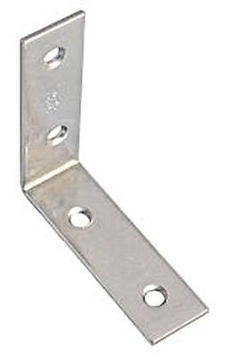 Corner Angle 100X20mm Mat Stainless Steel