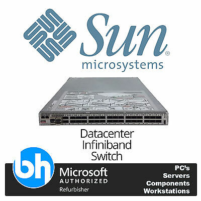 SUN Oracle Microsystems 7052969 Datacenter Infiniband Switch 36 602-4758 X2821A