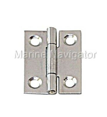 Narrow Hinge Stainless Steel Satin Finish 100x 52 x 1.5mm
