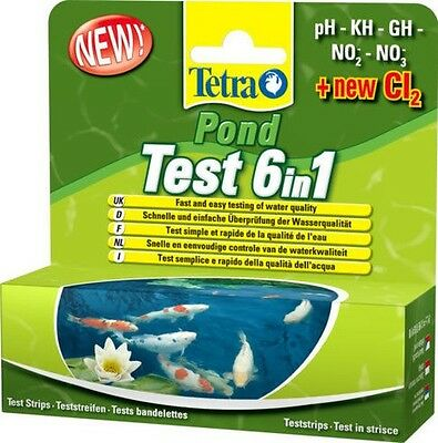 Tetra Pond Test 6in1 - 25 Pieces