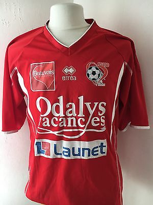 Maillot Shirt Football Foot HOME Domicile ASBO Beauvais Oise #27 DIE
