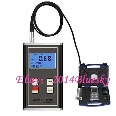 LANDTEK VM-6370 Vibration Meter Moving Machinery Imbalance and Deflecting