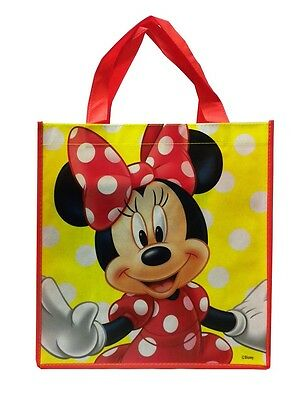 "Disney Minnie Mouse Large Reusable Non-Woven Tote Bag 13"" X 13"" X 6"""