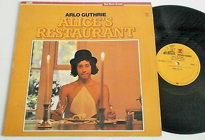 Arlo Guthrie - Alice's Restaurant. German Reissue Reprise LP Near Mint