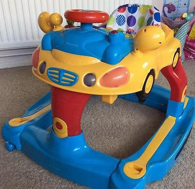 Mamas And Papas 4 In 1 Car Baby Walker, Rocker, Music Toy