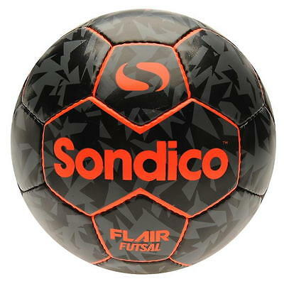Sondico Flair Futsal Low Bounce Football Ball Size 3 Orange Black R163