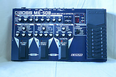Boss ME-50B Bass Multiple Effects with COSM Pedal