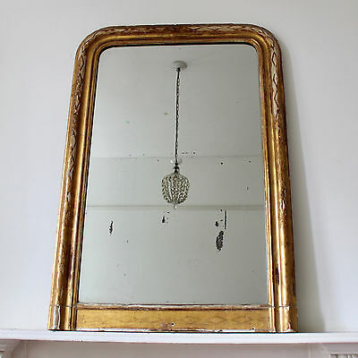Large Antique Mirror French