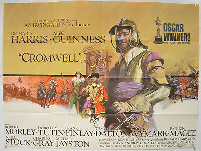 CROMWELL (1970) Original Quad Movie Poster - Richard Harris, Alec Guinness
