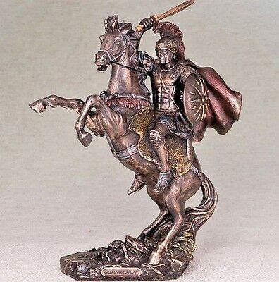 "Big! The statuette ""Alexander the Great"" (30 * 22 cm) / figurine  Veronese"