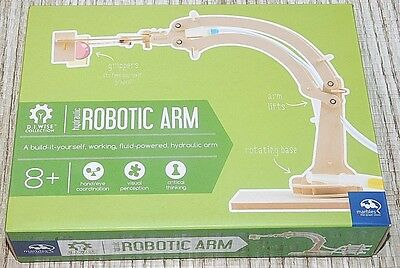 New Sealed HYDRAULIC ROBOTIC ARM ~ Marbles The Brain Store WISE COLLECTION NIB